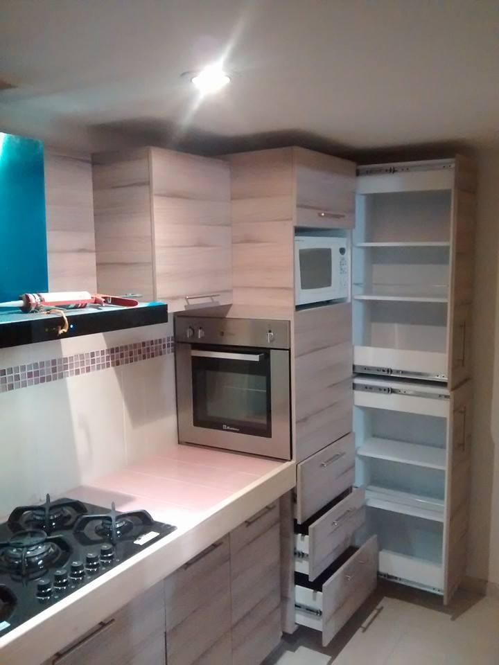 Closets y cocinas integrales residencial cocina integral for Cocinas integrales de melamina