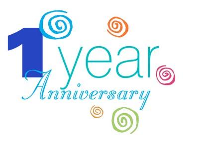 Happy 1 Year Work Anniversary Clip Art