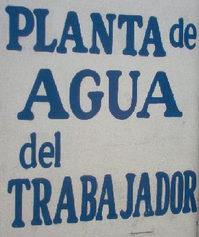 Planta de Agua del Trabajador