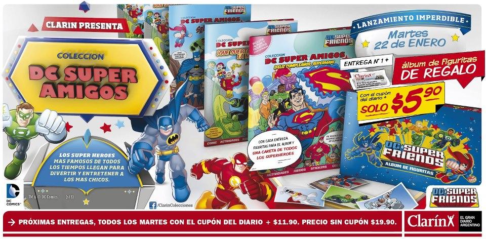 ¿cómo meto a mi sobrino en el mundo de los comics? - Página 2 Dc+superamigos+coleccion+clarin
