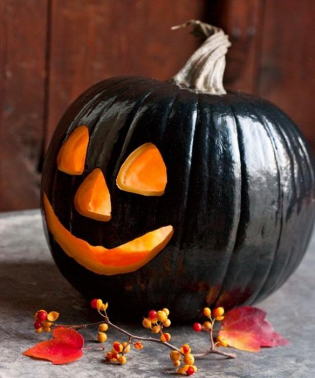 hallowen pumpkins smileface