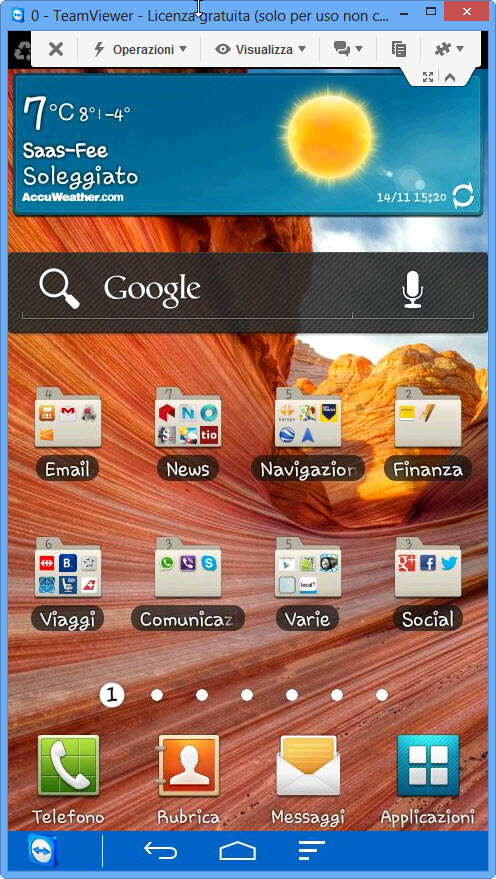 Controlla dal PC il tuo dispositivo Android Samsung - TeamViewer