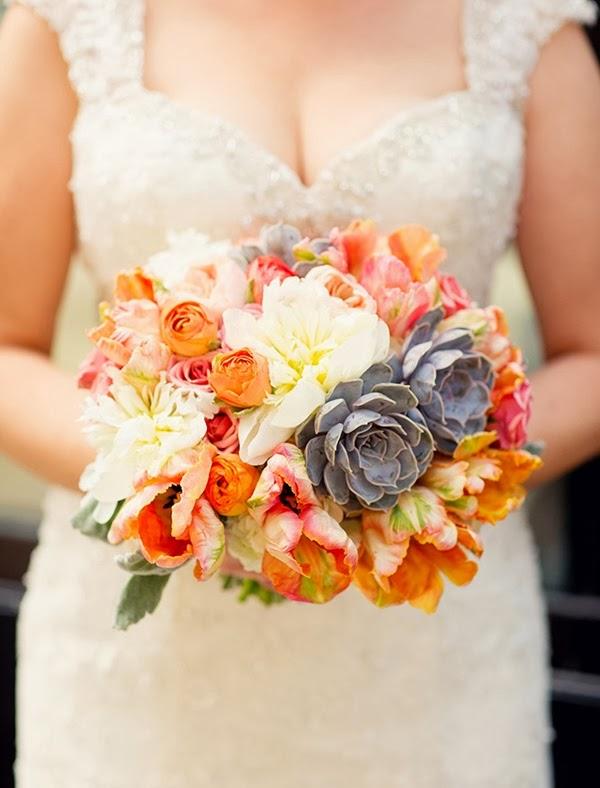 ramo de novia otoñal