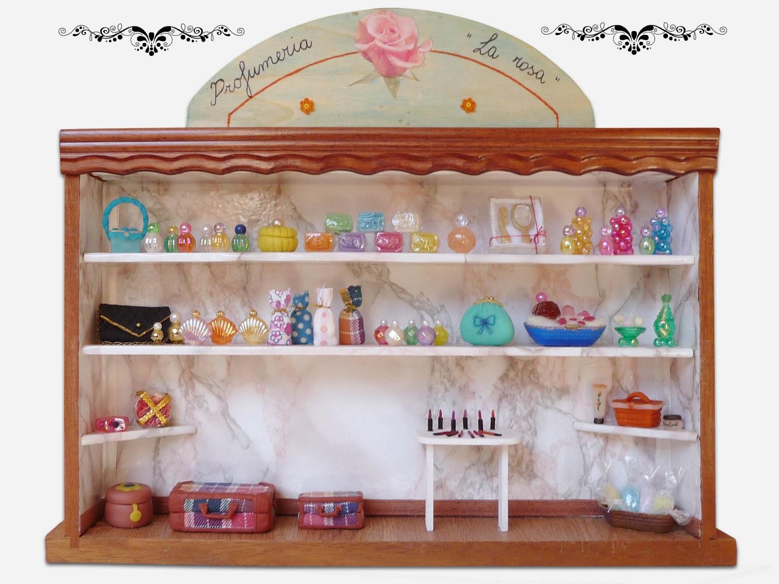Morandi sisters microworld beauty expositor espositore profumeria - Bagno in miniatura ...