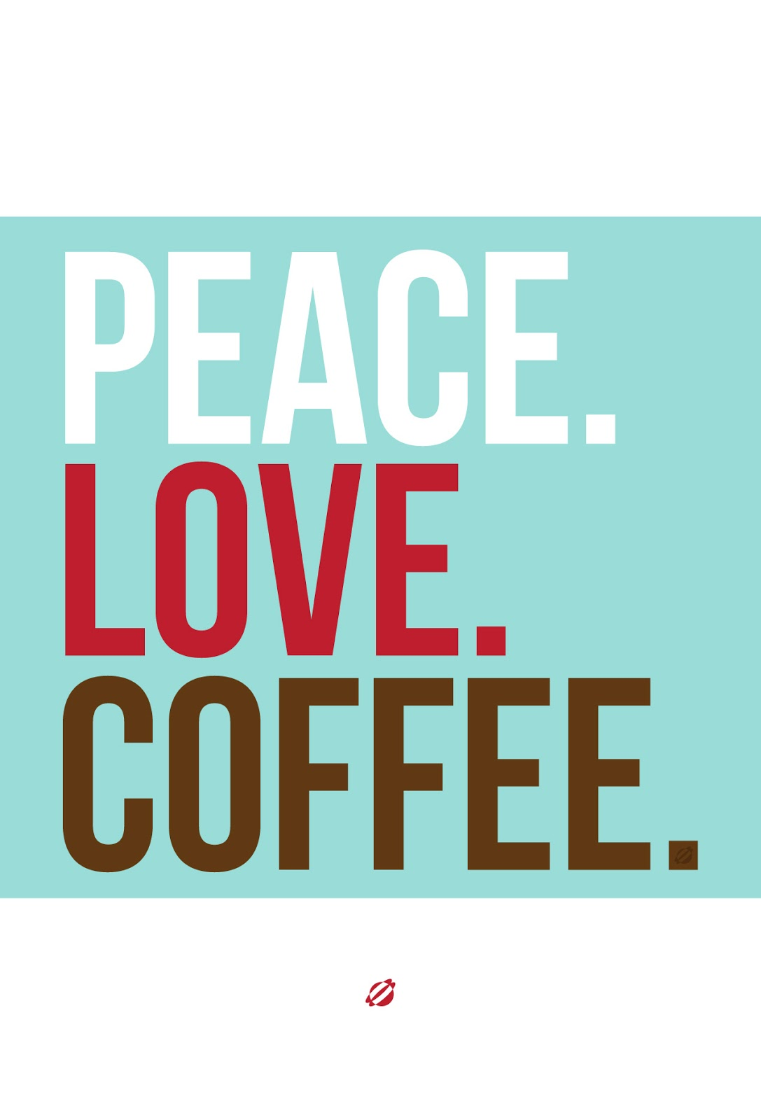LostBumblebee ©2014 Peace Love Coffee  #FreePrintable - personal use only
