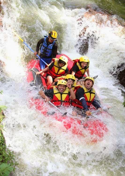 Biaya Rafting di Sungai ELo, Harga Arung Jeram Sungai Elo Magelang