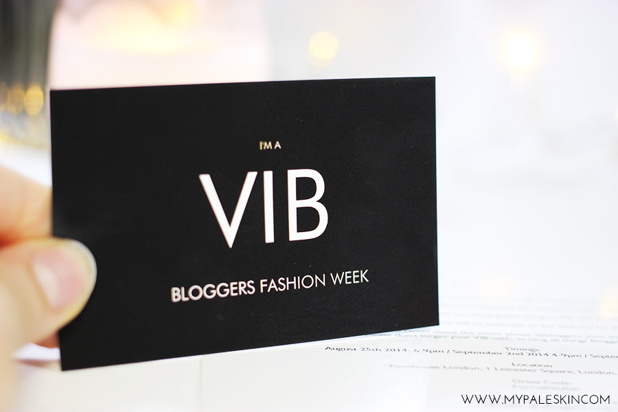 Bloggers Love Fashion Week, VIB, #VIB, #BLFW