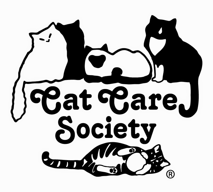 Link to the Cat Care Society Website - Click the Logo