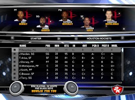 NBA 2k14 Custom Roster Update v4 : February 21st, 2015 - Trade Deadline - Rockets Roster (with injuries)