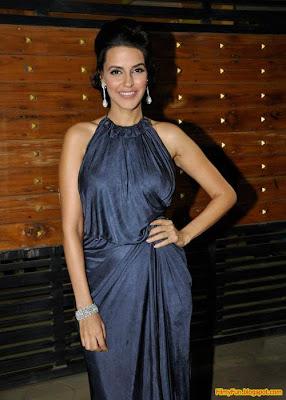 Neha Dhupia arrives for the Filmfare Awards at Yash Raj Studio Mumbai_FilmyFun.blogspot.com