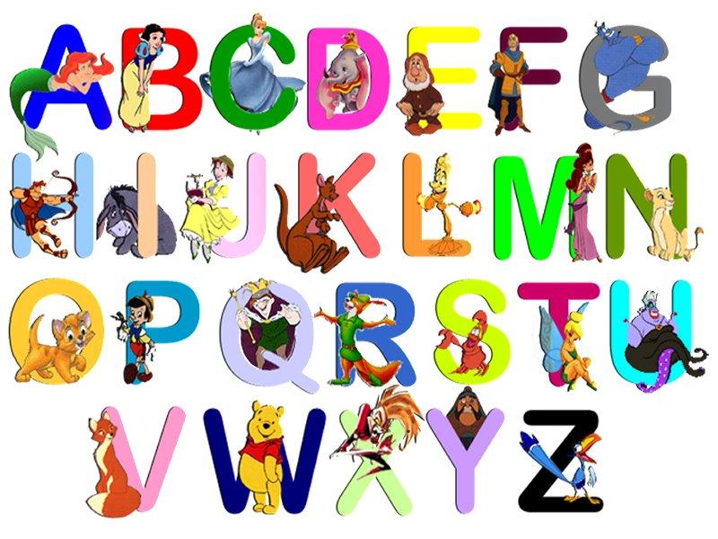 bem vamos conhecer um pouco melhor as letrinhas do alfabeto