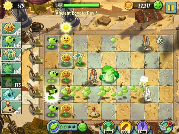 "Plants vs Zombies 2 ""It's About Time"""