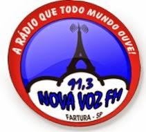 Rádio Nova Voz FM de Fartura SP ao vivo