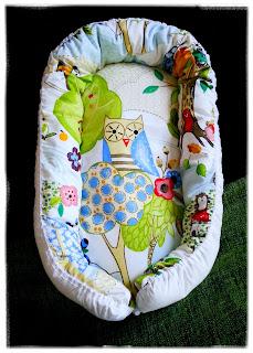 Sy ett eget babynest till bebis