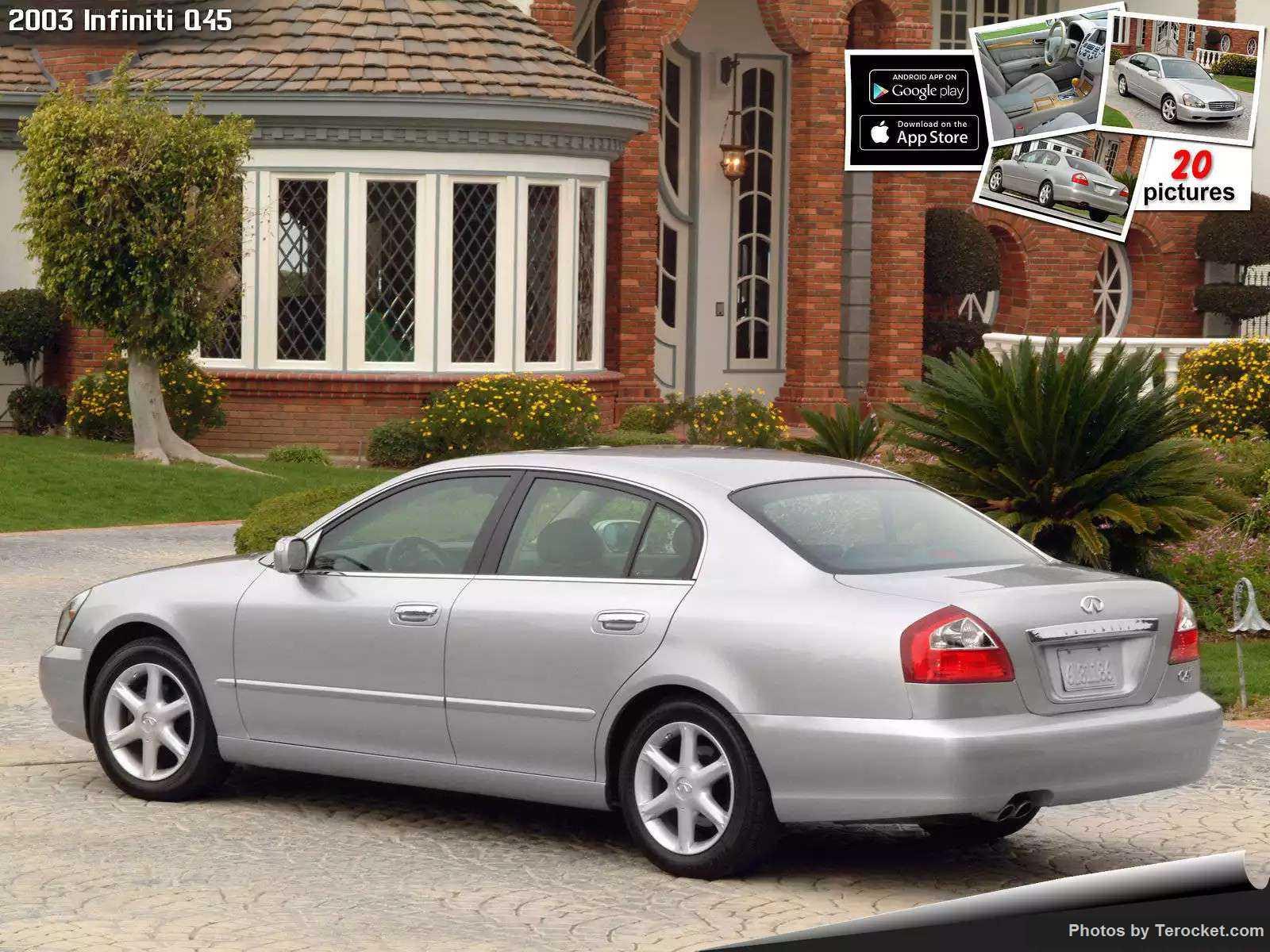 Hình ảnh xe ô tô Infiniti Q45 2003 & nội ngoại thất