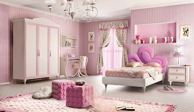 dormitorios niñas mariposas