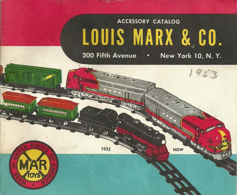 Toys From 1953 : Toys and stuff marx catalog pgs