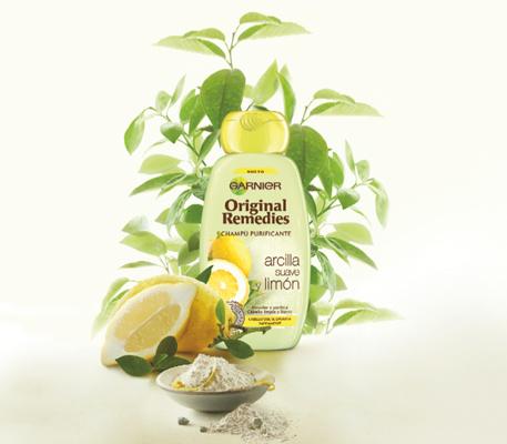 Garnier Original Remedies arcilla y limón