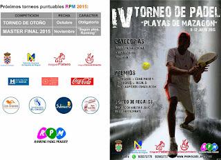 IV Torneo de Pádel Playas de Mazagón