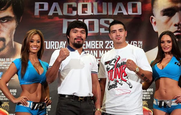 Manny Pacquiao vs Brandon Rios HBO PPV Fight