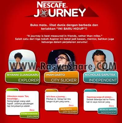 Kontes Nescafe ID Journey (8 Mei - 31 Desember 2012)