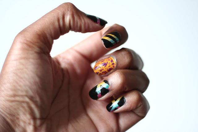 DIY Nail Art & MYWATCHY