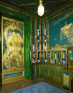 Gilt Panels and Kangxi Smithsonian