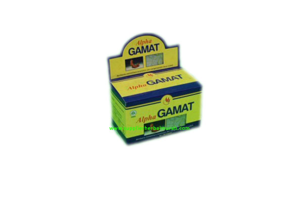 Alpha GAMAT Gold (Gamat plus Spirulina Kaplet)
