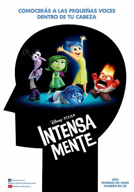 Intensa - Mente, lo nuevo de Disney y Pixar.