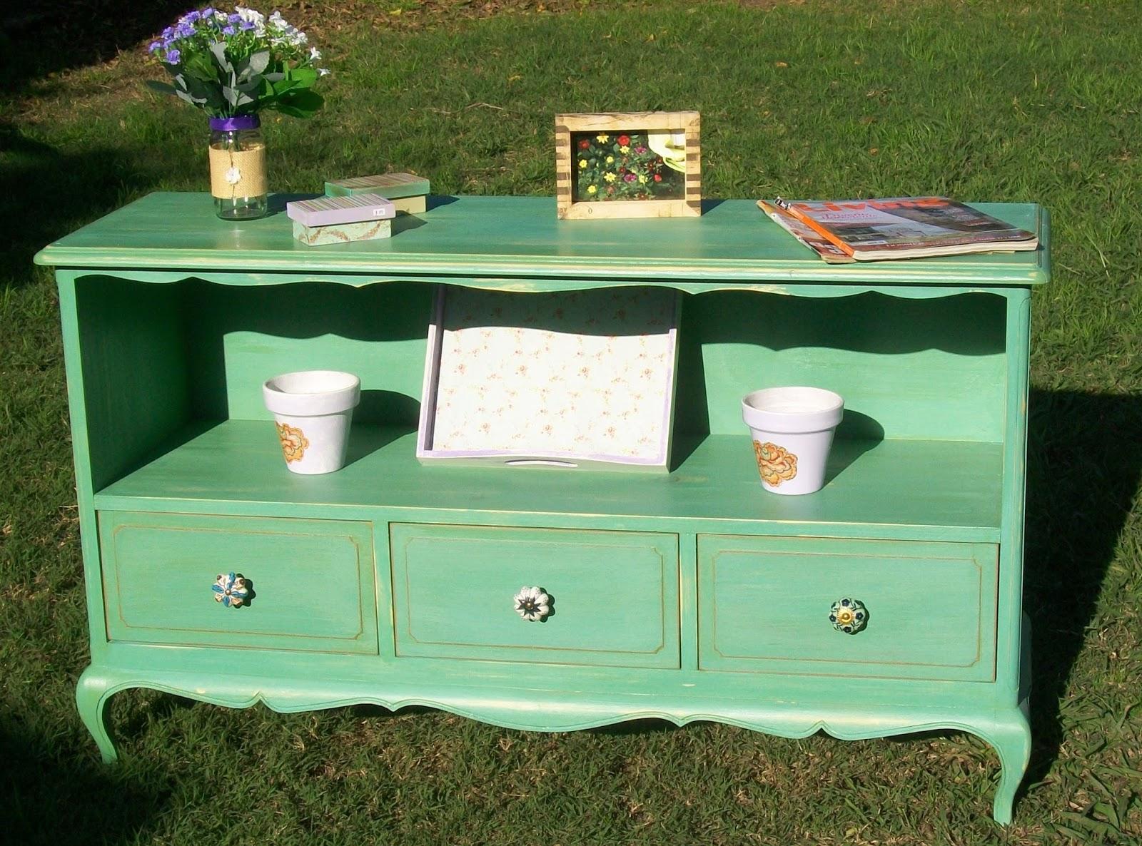 Punto estilo deco organizadores de ambiente vajilleros - Muebles en crudo para pintar ...