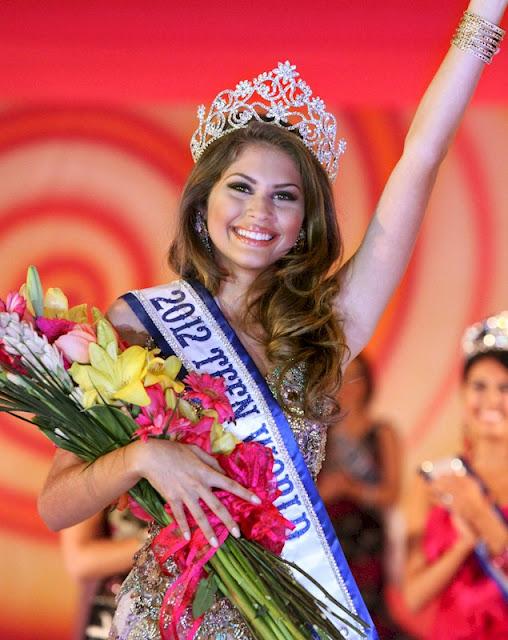 Foto de Gabriele Marinno no Concurso Miss Teen 2012