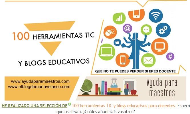 100 FERRAMENTAS TIC E BLOGS