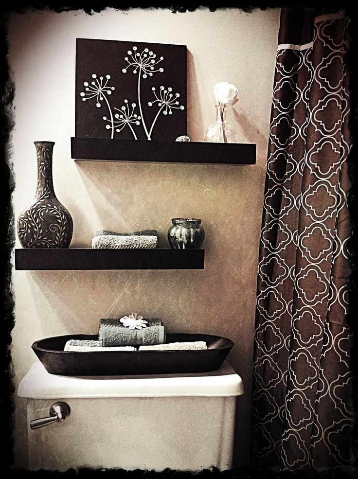 Best bathroom designs bathroom decor for Small bathroom design black and white
