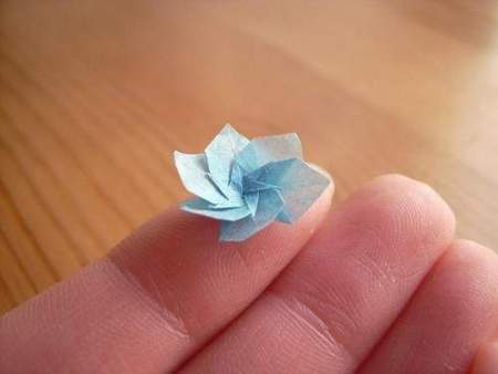 Origami very small lotus flower 3d easy make origami instructions origami very small lotus flower 3d mightylinksfo