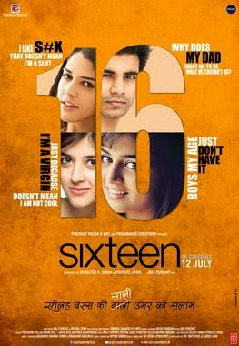 Watch Sixteen (2013) Hindi DVDRip Full Movie Watch Online For Free Download