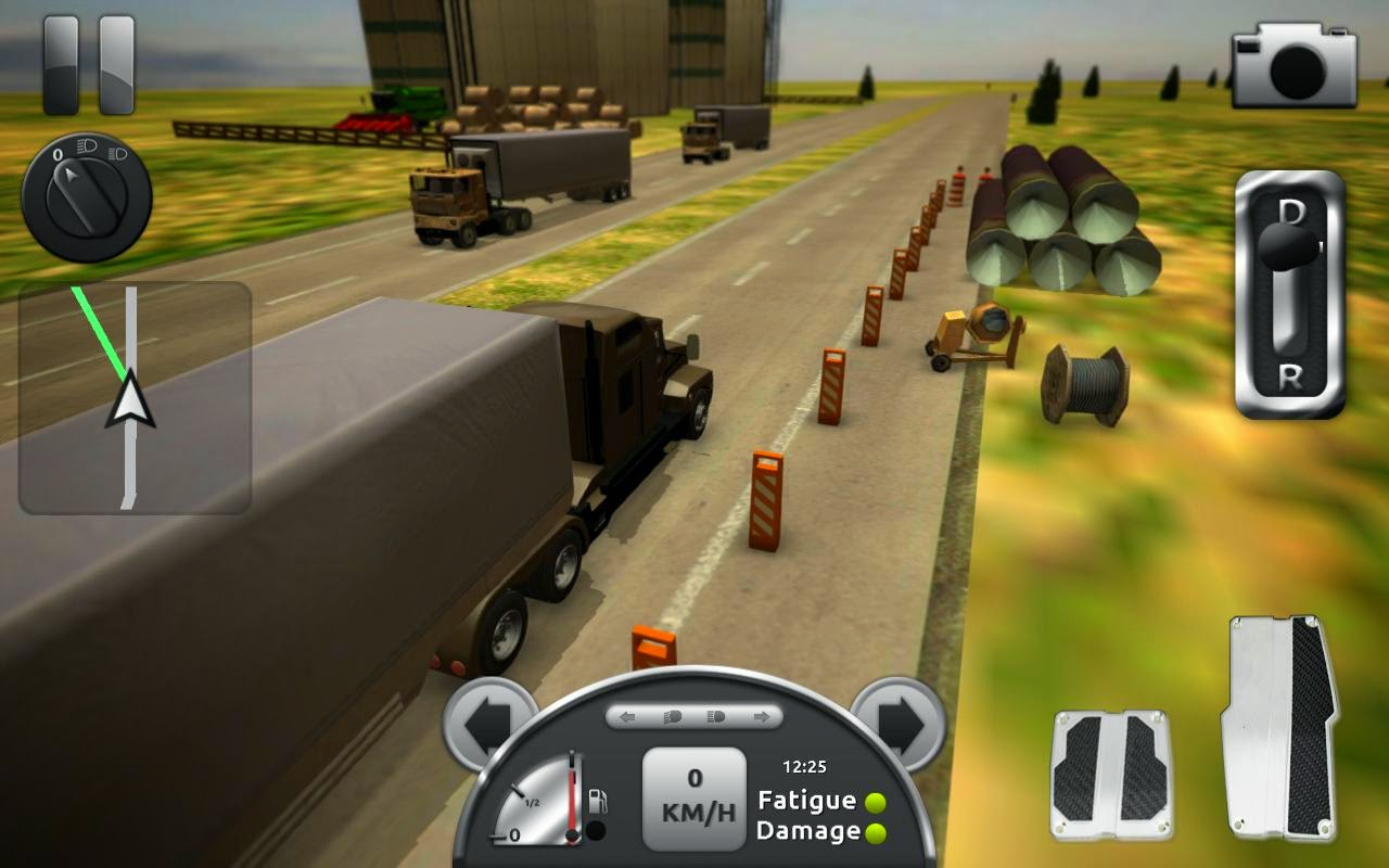 Truck Simulator 3D APK+DATA (Unlimited Money)
