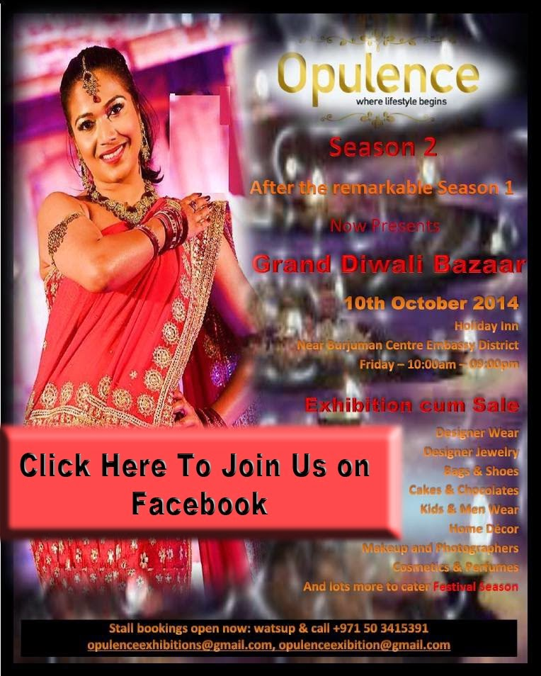 Opulence - Where Lifestyle Begins (Hurry to Book Your Stalls) for Season 2