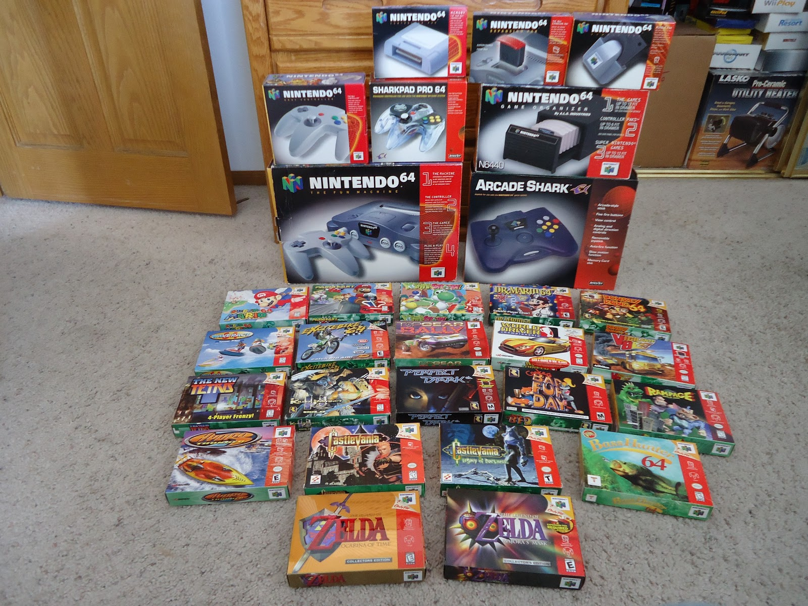 WatchmeplayNintendo: My Nintendo 64 Collection