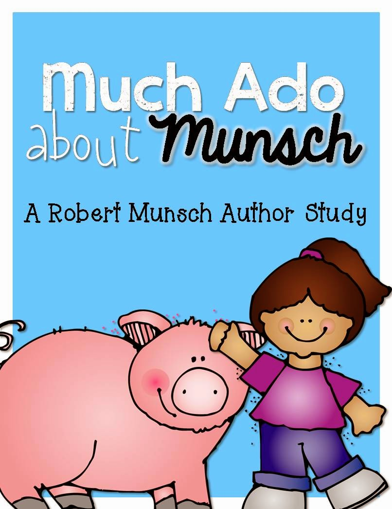 http://www.teacherspayteachers.com/Product/Much-Ado-About-Munsch-Robert-Munsch-Author-Study-216973