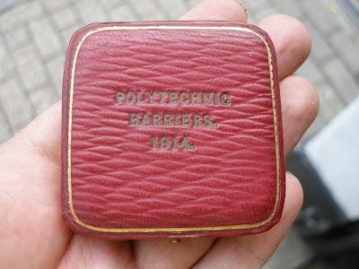 Solid Sterling Silver & Enamel Boxed Medal Birmingham 1913