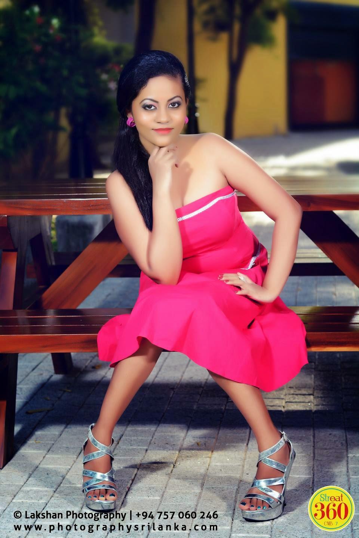 Natalie Hewage hot pink