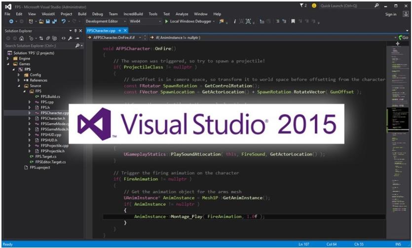 download visual studio 2015 professional