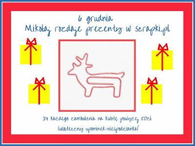 Mikołajki w scrapki.pl
