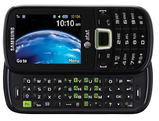 Samsung Evergreen Eco-Friendly messaging phone for AT&T