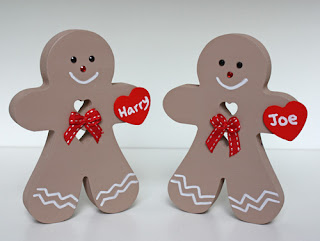 Personalised Christmas Decorations Gingerbread Man Baby 1st First