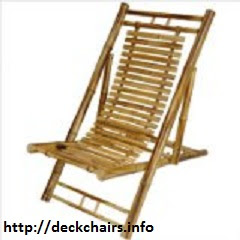 Japaneese Bamboo Folding Chairs