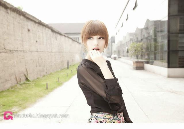 3 Zheng Lu - Mystery Figure- very cute asian girl-girlcute4u.blogspot.com