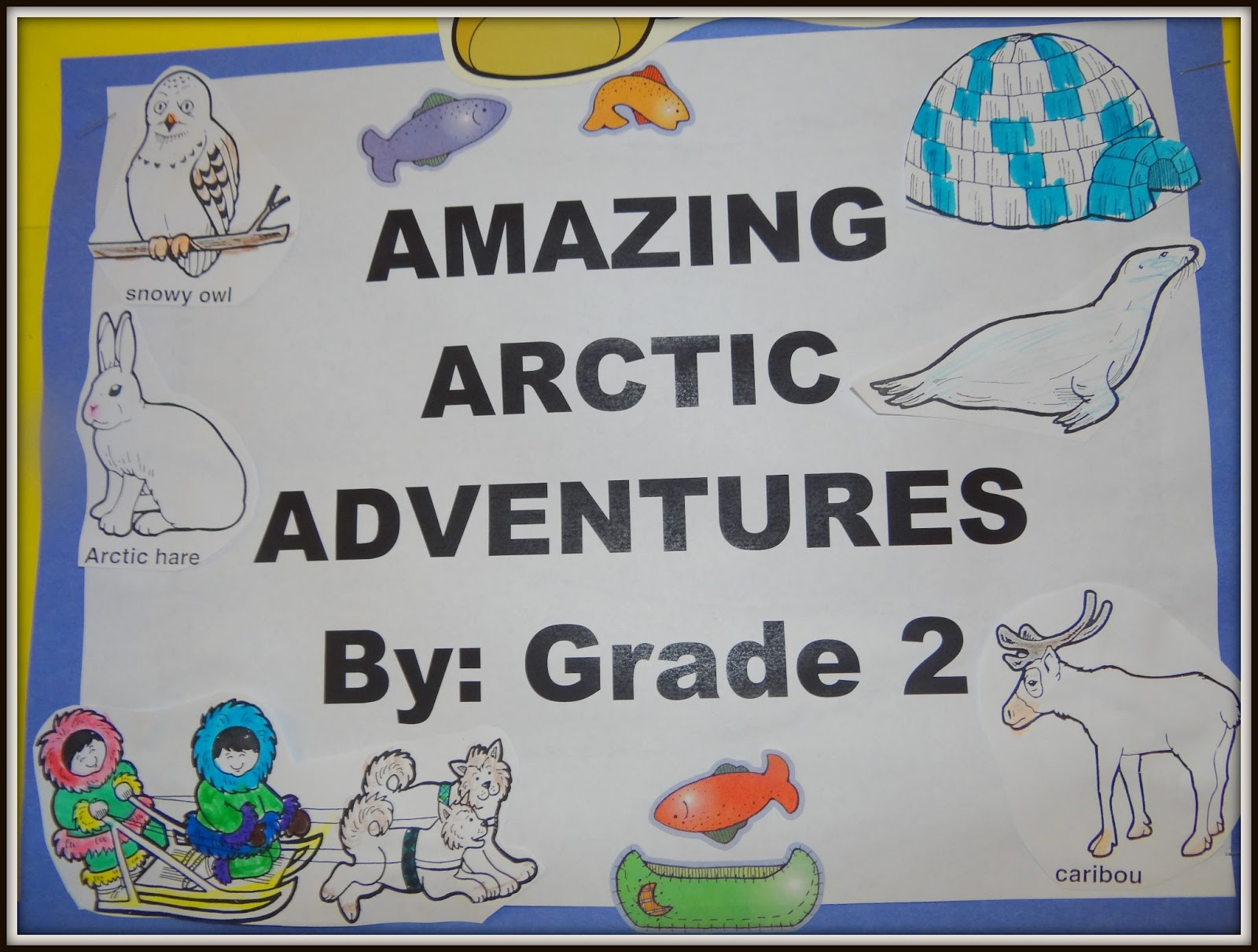 Fine Which Arctic Animals Love Math Worksheet Answers Image ...