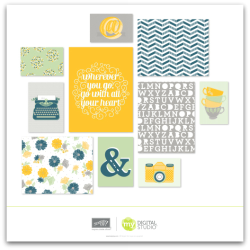 Go With Heart Designer Decor Printable Templates