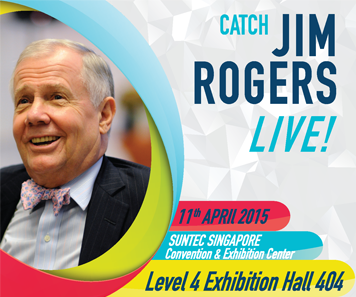 Catch Jim Rogers Live! - Invest Global Seminar